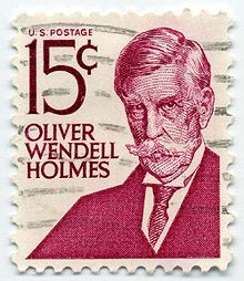 1978 postage stamp issued by the U. Post Office to commemorate Oliver Wendell Holmes Jr. Old Stamps, Rare Stamps, Vintage Stamps, Oliver Wendell Holmes Jr, Stamp Values, Price Of Stamps, Postage Stamp Collection, Commemorative Stamps, Postage Stamp Art