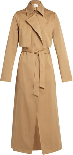 RAEY Cotton-gabardine trench coat
