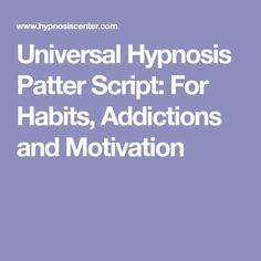 108 Best hypnosis scripts images in 2019 | Hypnosis scripts