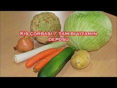 Kış çorbası ☆ tam bir vitamin deposu - YouTube