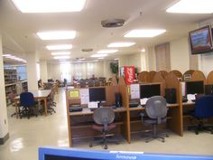 View from the current reference desk