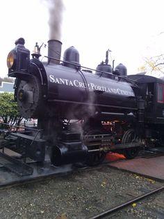2014 - New for Halloween Train is powered by steam, Santa Cruz Portland Cement locomotive Halloween Train, Railway Museum, Portland Cement, Steam Locomotive, Train Rides, Trains, Santa Cruz, Train