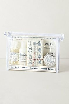 Barr-Co. Tranquility Travel Set