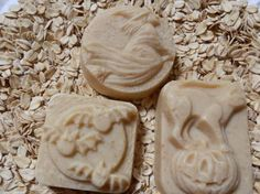 Oatmeal Honey Halloween Fun Shapes Soaps