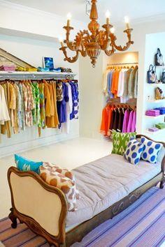 Decoração de lojas de roupa