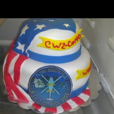 AWESOME!! Military cake