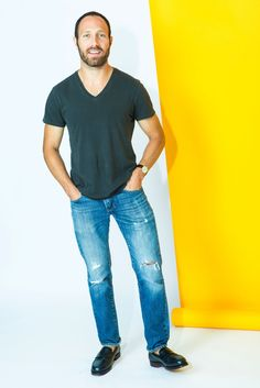 """Single? Meet NYC's 22 Hottest Bachelors #refinery29  http://www.refinery29.com/most-eligible-bachelors-in-nyc#slide-23  Name: Ian VelardiAge: 32Location: GramercyJob Title: Fashion DesignerSexual Preference: GirlsWhat do you look for in a significant other? """"People are way more complex than the sum of a few qualities.  I try not to set parameters — you never know who you're going to connect with. I think it's the intangible things. If I meet a girl and I feel a good connection, I'll pursue…"""