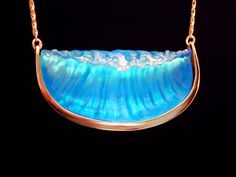 Matt Bezak glass wave jewelry