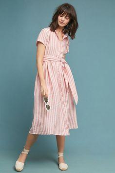 Longport Linen Shirtdress