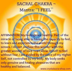 Soul Trees®Second Chakra- Sacral The Sacral chakra, considered to be orange, is located between the top of the pelvic bone up to the navel. Description from pinterest.com. I searched for this on bing.com/images