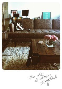 love bri emery's living room via designlovefest.com