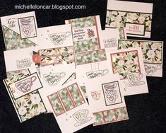 Show and Tell, with Michelle: March Stamp of the Month Blog Hop ~ Tea-rrific