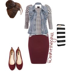 Stripes and Maroon!!