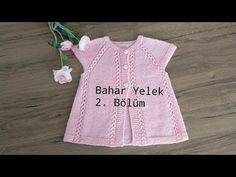 #bebekyeleği Bahar Yelek 2/Bahar Baby Vest 2/English explanation