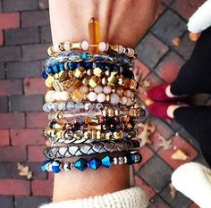 Welcome the romance of the holiday season in bangles that glitter in the lights | ALEX AND ANI Retro Glam Collection