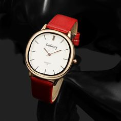 Gogoey Brand Fashion Rose Gold Quartz Watch Women Watches Leather Strap Ladies Watch Casual Wristwatches Hour relogio feminino
