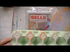 Pattern Tools For The Gelli Plate - YouTube