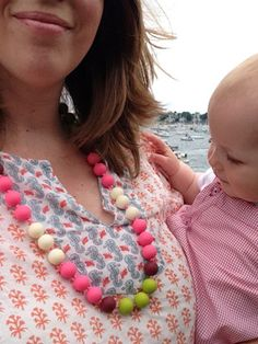 Chewbeads are the perfect accessory for moms with teething babies!