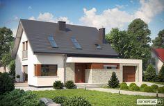 Projekty domów ARCHIPELAG - Santiago G1 ENERGO