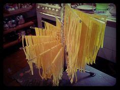 Home made pasta.
