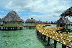 Punta Caracol Resort in Bocas del Toro, Panama (by th3f1nd3r48530).