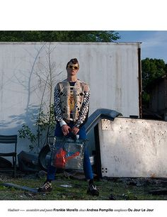 THE FALL - EDITORIAL STORY ON FUUUCKING YOUNG MAGAZINE ! FW2014