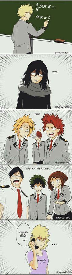 Anime Memes My Hero Academia Boku No Hero Academia Funny, My Hero Academia Shouto, My Hero Academia Episodes, Hero Academia Characters, Anime Amor, Anime Guys, Bakugou Manga, Funny Anime Pics, Mini Comic