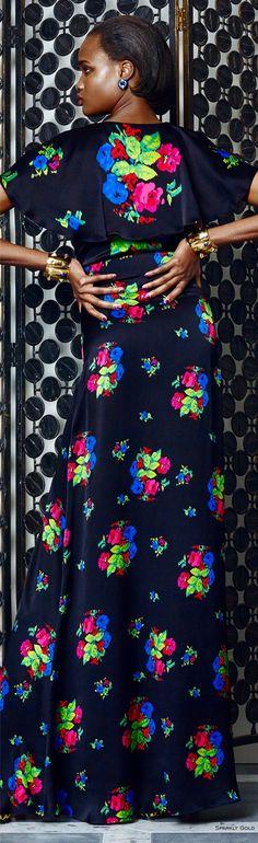 Duro Olowu Fall 2016 RTW Floral Fashion, Love Fashion, Autumn Fashion, Fashion Outfits, Fashion Trends, Duro Olowu, F 16, 2016 Trends, Fall 2016