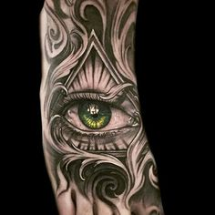 I wouldn't put this on my skin if your not really with them or know any of them it might cost your life down the line. Chicano Tattoos Sleeve, Skull Tattoos, Forearm Tattoos, Body Art Tattoos, Eye Of Ra Tattoo, All Seeing Eye Tattoo, Ojo Tattoo, Tatoo Art, Badass Tattoos
