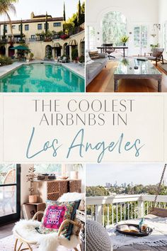 Coolest Airbnbs in Los Angeles Los Angeles Girl, Los Angeles Travel, Los Angeles Resorts, Los Angeles Vacation, Visit Los Angeles, Downtown Lofts, Hollywood California, California Coast, Los Angeles California