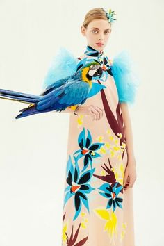 TDynasty Tropical Parrots Unisex Fashion Stockings Cotton Knee High Socks Novelty