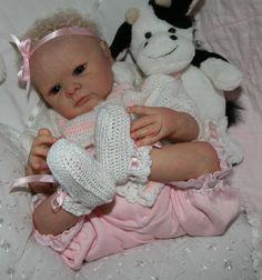 Angels of Delight Nursery Reborn Baby Girl  Jill  Sculpt by Adrie