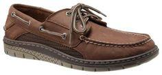 Sperry Billfish Ultralite 3-Eye Boat Shoes for Men - Dark Tan - 8.5M