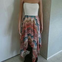 Summer dress Strapless flowing summer dress No Boundaries Dresses