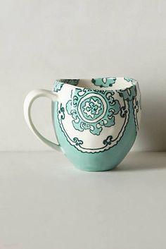 Gloriosa Mug #anthropologie #anthrofave
