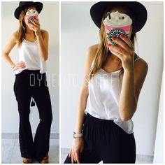 B&WMUSCU JULIA SATEN  PALAZZO GUADALUPE ULTIMOS!!!Local Belgrano Envios Efectivo y tarjetas http://www.oyuelito.com.ar #followme #oyuelitostore #stylish #styles #fashion #model #fashionista #fashionpost #ootd #photooftheday #follow #clothing #instafashion #trendy #chic #girl #trends #summeroutfit #outfitoftheday #selfie #outfit #showroom #boho #iloveshowpo #loveit #look #instamood #inspirationoftheday