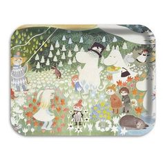 Moomin Dining 43x33cm Dangerous Journey Tray | ACHICA