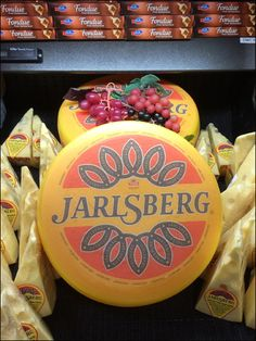 Wegman's Jalsberg Nat Cheese Wheel Main