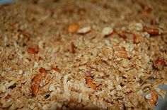 Granola recipe and M