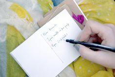 DIY: pocket notebook