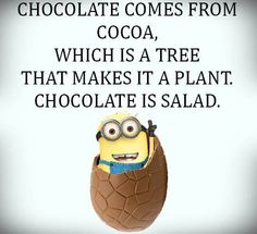 #despicableme #funny #minions   And if you put whipped cream on top of it whipped cream comes from milk which comes from a cow that makes it a salad with dressing.