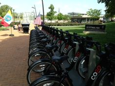 Bike Share programs make multi-modal travel possible! CoGo Bike Share - a new way to see Columbus!