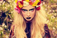 Gypsy doll makeup