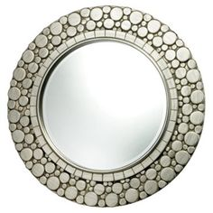 Check out this item at One Kings Lane! Monterey Mirror, Silver Leaf