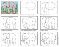 Elephant Drawing Tutorial // Tutorial para dibujar un elefante  #kbn #kidsactivities #kidscrafts #activitiesforkids #parenting #craftforkids #diy #actividadesparaniños #actividadesniños #manualidades #manualidadesniños #manualidadesparaniños #ideasqueinspiran #kidsart #artwithkids #kidsProject #simpleart #easyart #simplecrafts #easycrafts #drawing #tutorial #stepbystep #elephant #elefant #pasoapaso #dibujo