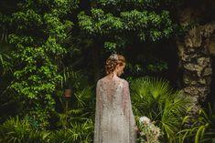 Wild + Natural Midsummer Nights Dream Inspired Bridal Elegance, with a Jenny Packham Celestial Cape Jenny Packham Wedding Dresses, Jenny Packham Bridal, Dream Wedding Dresses, Wedding Cape, Bridal Cape, Bridal Gowns, Wedding Blog, Bridal Elegance, Celestial Wedding