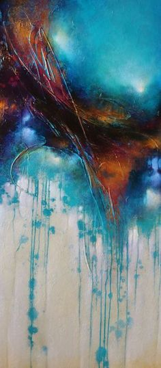 Colorful Painting Series Santa Fe Large abstract contemporaryTexas Dallas Houston Austin California New York Art - Cody Hooper Art Más