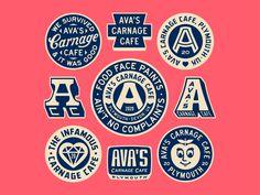 Graphic Design Print, Graphic Design Branding, Graphic Design Illustration, Logo Branding, Burger Branding, Business Branding, Vintage Logo Design, Vintage Branding, Game Design