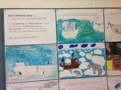 Verdeel het verhaal van geschiedenis in fragmenten. Verdeel deze over de leerlingen in de klas. Geschiedenis Nova Zembla bovenbouw