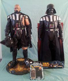 Amazing Custom 31″ Battle-Damaged Darth Vader   Yakface.com